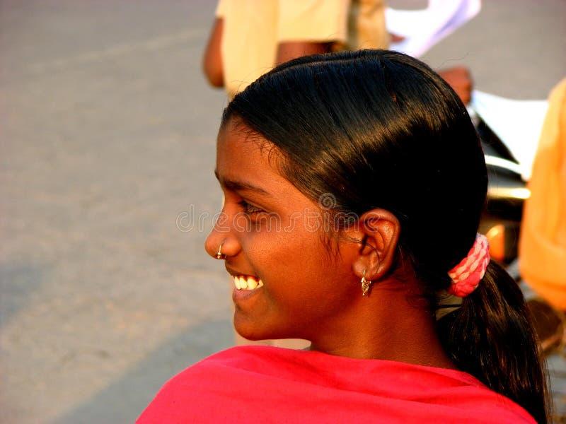 Rare Smile royalty free stock photo