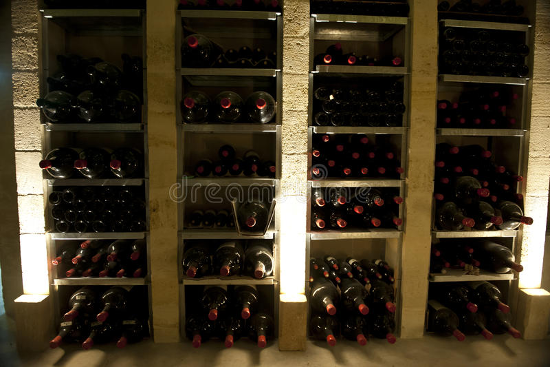 Download Rare Magnum Wine Bottles In Bordeaux Stock Image - Image of drink, bottle: 26844563