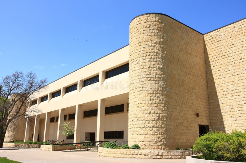 Rarick Hall Fort Hays State University. Rarick hall was built in 1981, in addition to classes this FHSU building also houses the campus day care center. Fort royalty free stock photos
