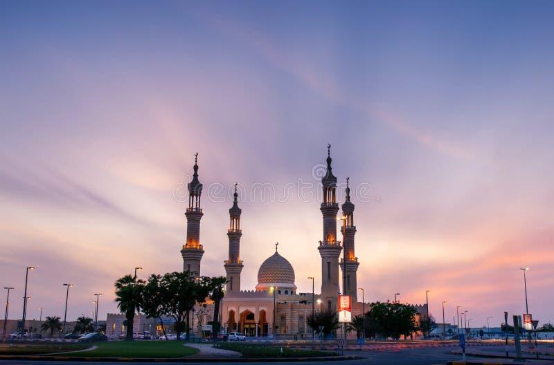 Ras Al Khaimah Förenade Arabemiraten - Oktober 30, 2018: Shaikh arkivfoto