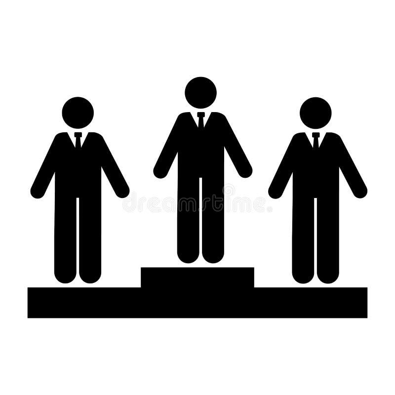 Rasa, biznes, bezrobotna ikona Element biznesmen ikona Premii ilo?ci graficznego projekta ikona Znaki i symbol kolekci ikona royalty ilustracja