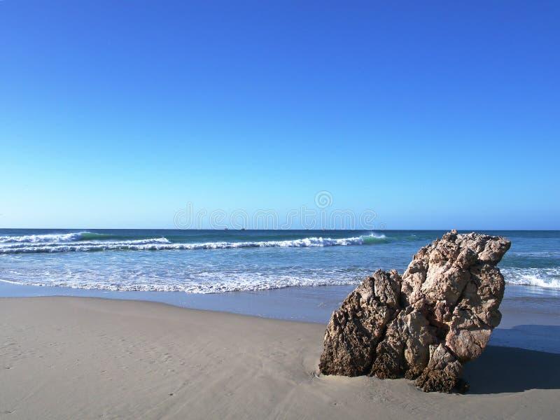 Rasa Madrakah plaża, Oman zdjęcie stock