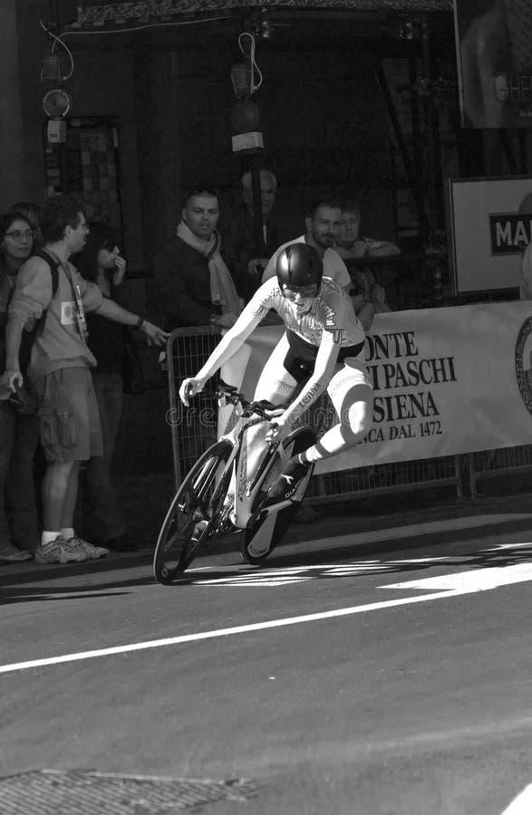 Rasa psite, Λιθουανία. Championshi οδικών κόσμων UCI στοκ εικόνες