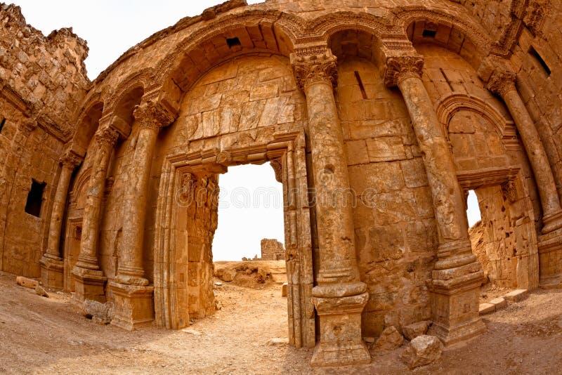 rasafa syria royaltyfri bild