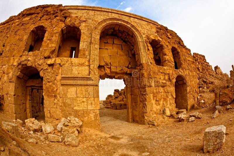 rasafa syria royaltyfria bilder