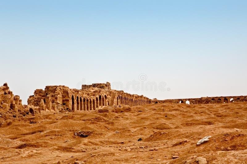rasafa syria royaltyfria foton
