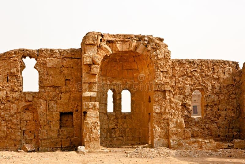 rasafa syria royaltyfri foto