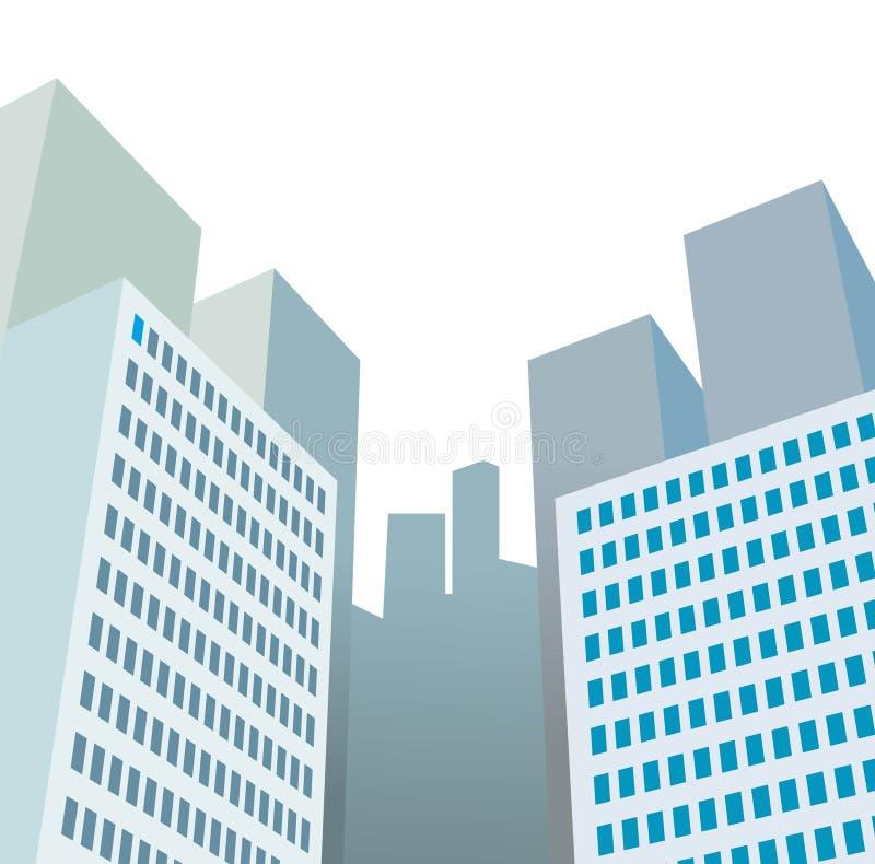 Rascacielos stock de ilustración