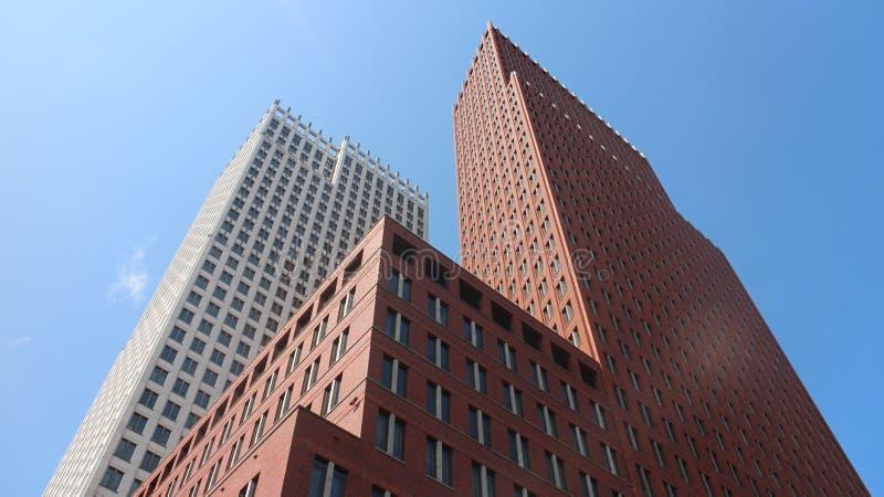 2 rascacielos foto de archivo libre de regalías