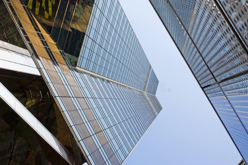 Rascacielos Antagonis de Hong-Kong foto de archivo libre de regalías