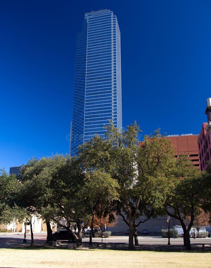 Rascacielos céntricos de Dallas imágenes de archivo libres de regalías