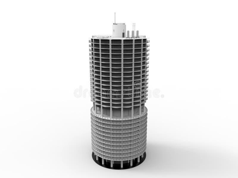 Rascacielos circular libre illustration