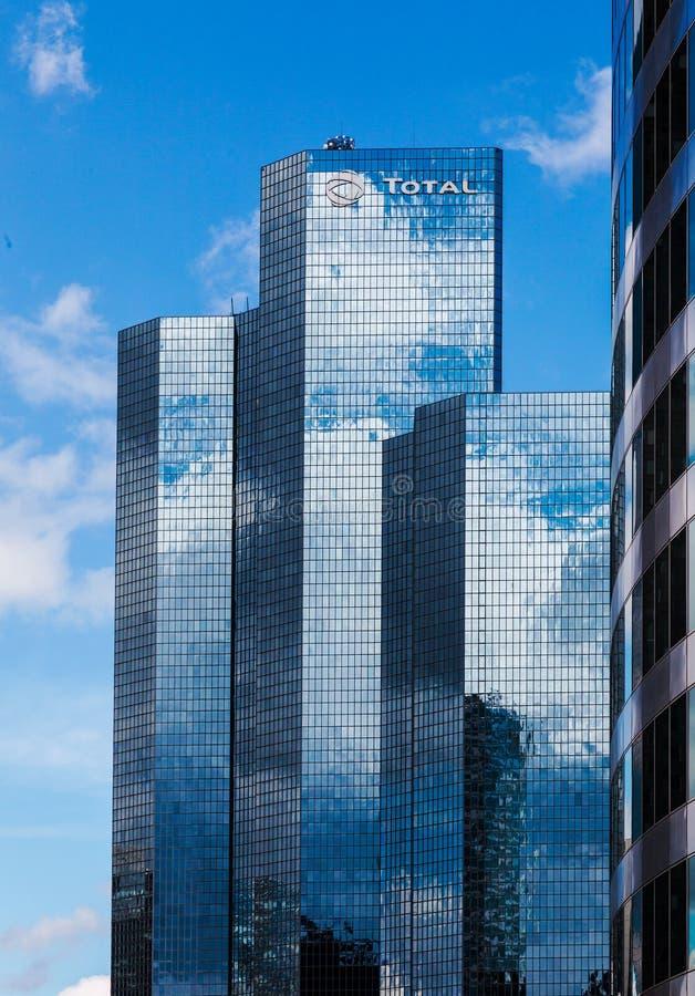 Rascacielos corporativos foto de archivo