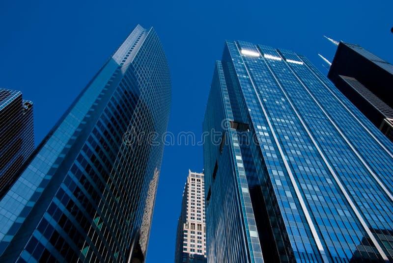 Rascacielos de Chicago foto de archivo