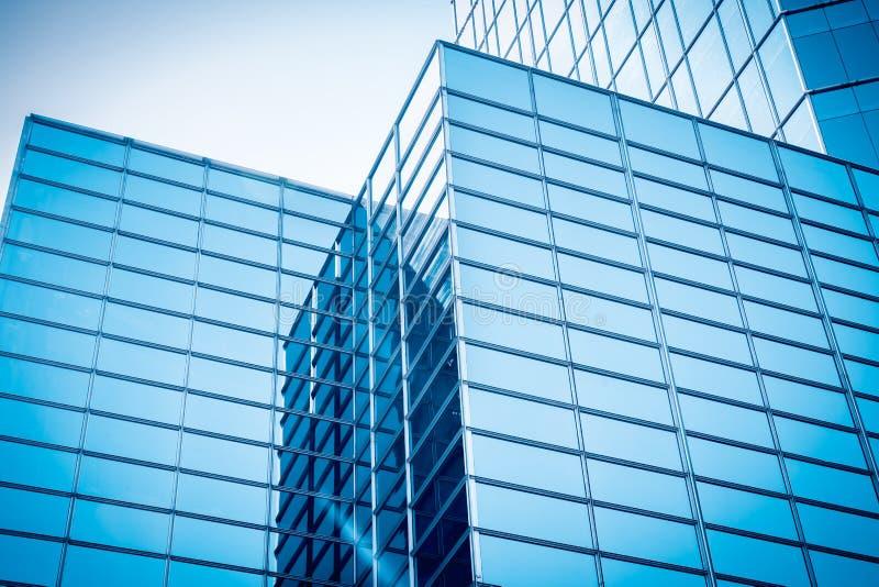 Rascacielos de cristal foto de archivo