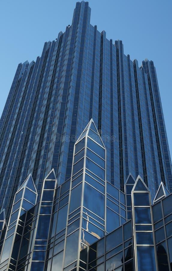 Rascacielos de cristal moderno fotografía de archivo libre de regalías