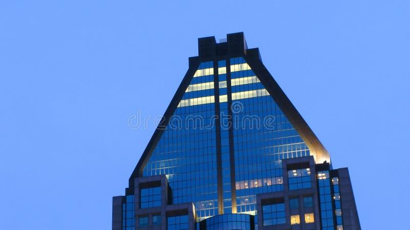 Rascacielos de cristal moderno imagen de archivo libre de regalías