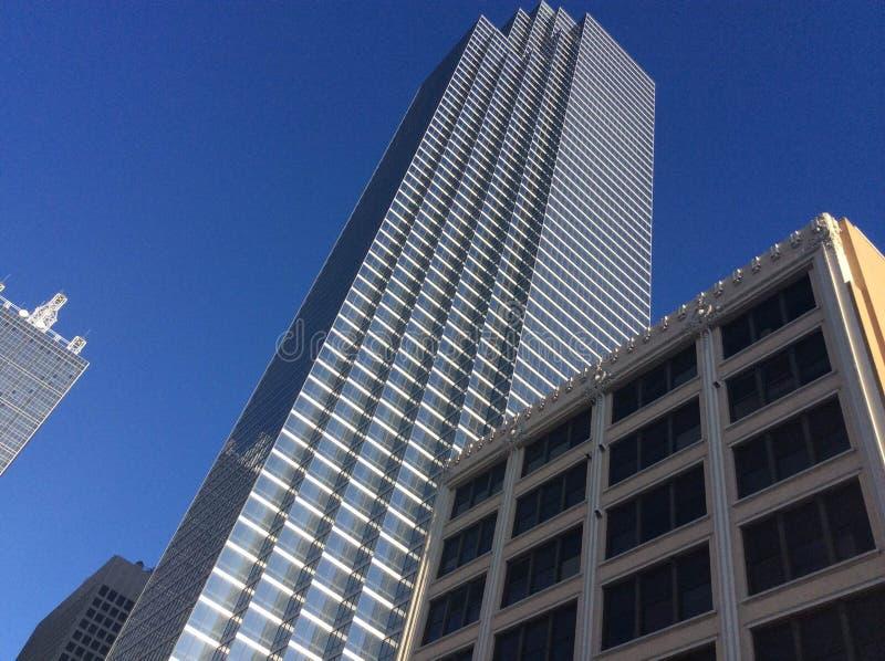 Rascacielos de Dallas fotos de archivo