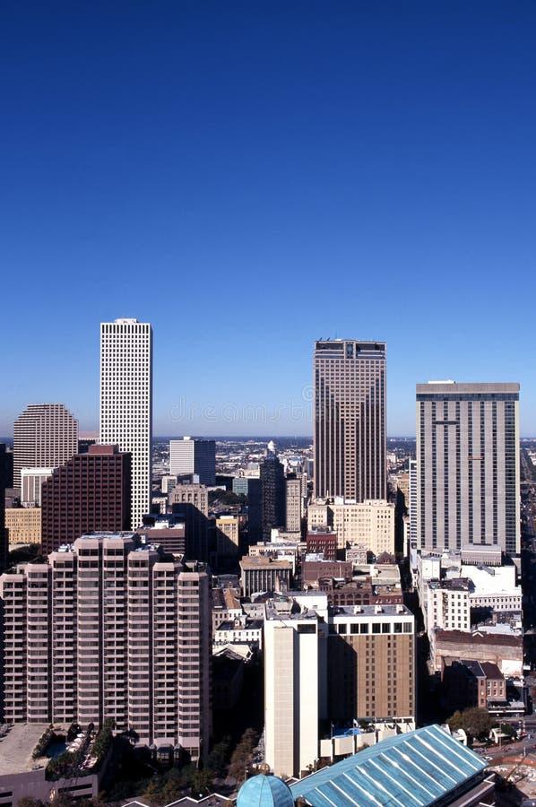 Rascacielos de la ciudad, New Orleans, los E.E.U.U. fotos de archivo libres de regalías