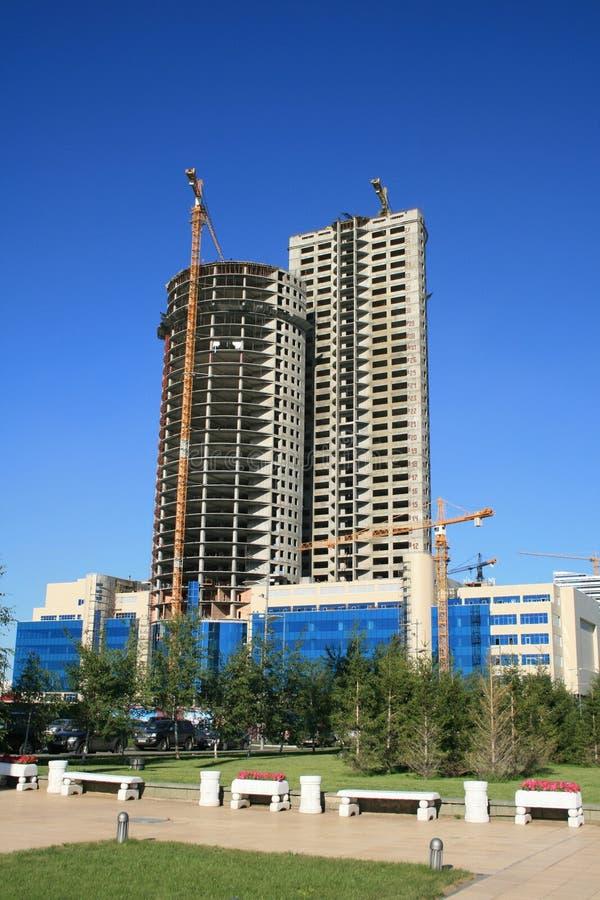 Rascacielos de la estructura foto de archivo libre de regalías