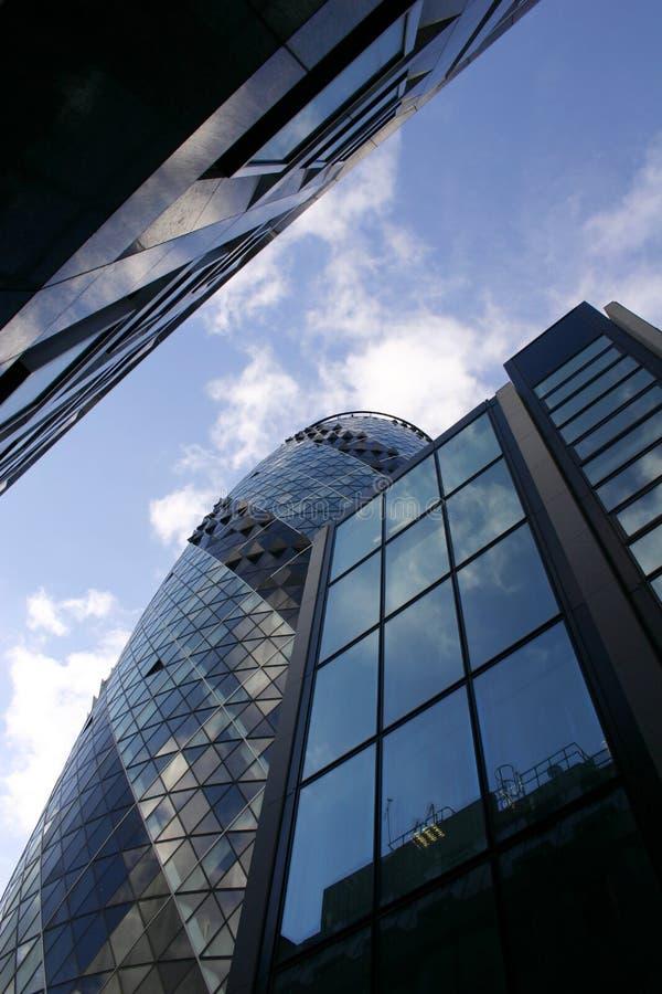 Rascacielos de Londres imagen de archivo libre de regalías