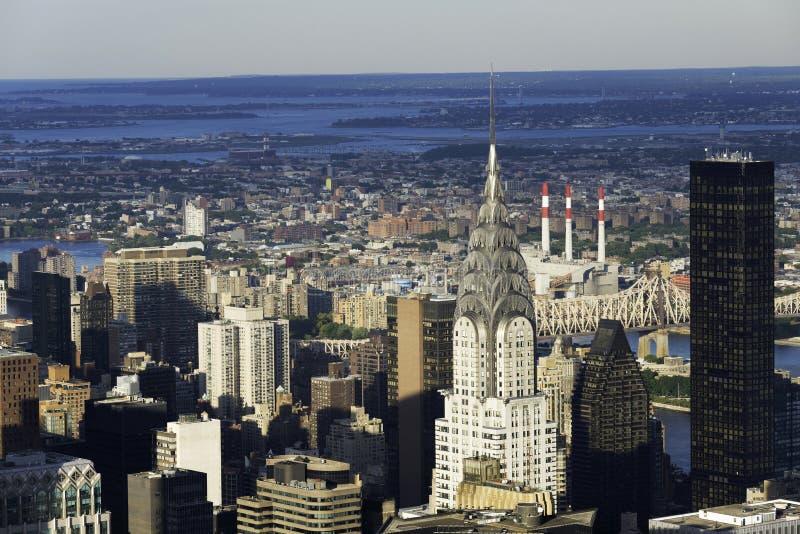 Rascacielos de New York City fotos de archivo