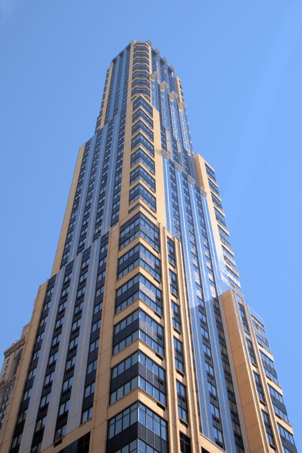 Rascacielos de New York City foto de archivo libre de regalías