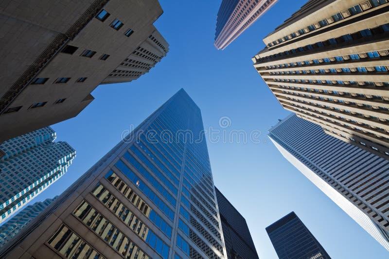 Rascacielos de Toronto imagen de archivo libre de regalías