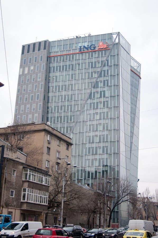 Rascacielos del banco de Ing fotografía de archivo libre de regalías