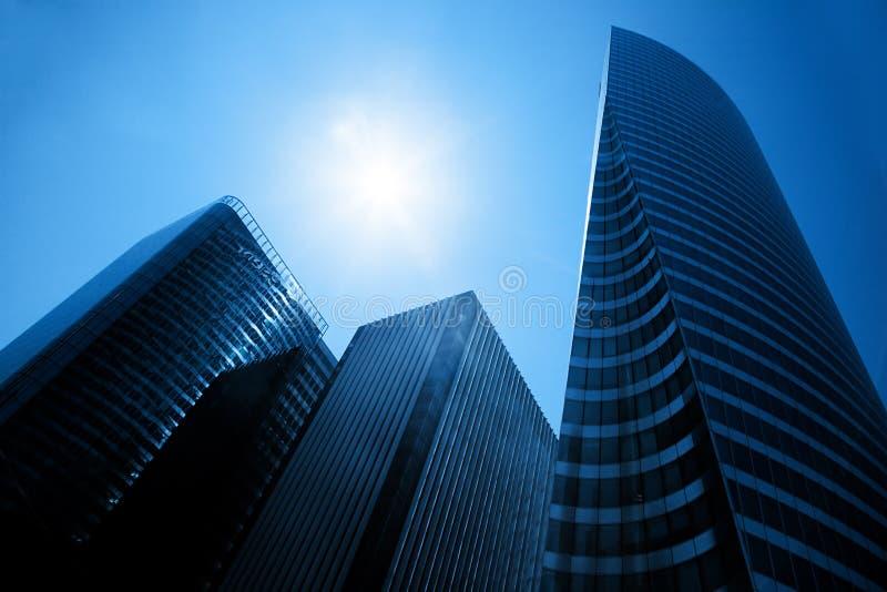 Rascacielos del negocio imagenes de archivo