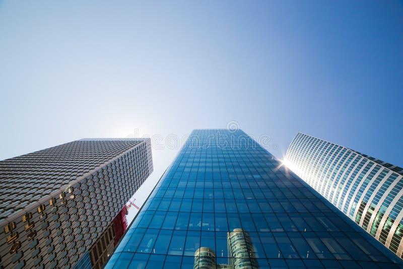 Rascacielos del negocio fotografía de archivo