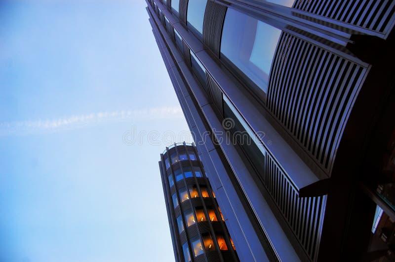 Rascacielos en Berlín imagen de archivo libre de regalías