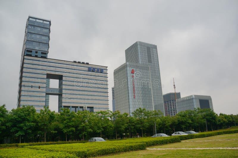 Rascacielos en Nanjing City imagenes de archivo
