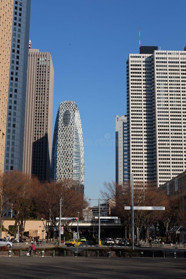 Rascacielos en Tokio imagen de archivo libre de regalías