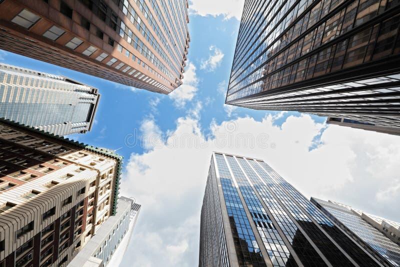 Rascacielos New York City fotos de archivo