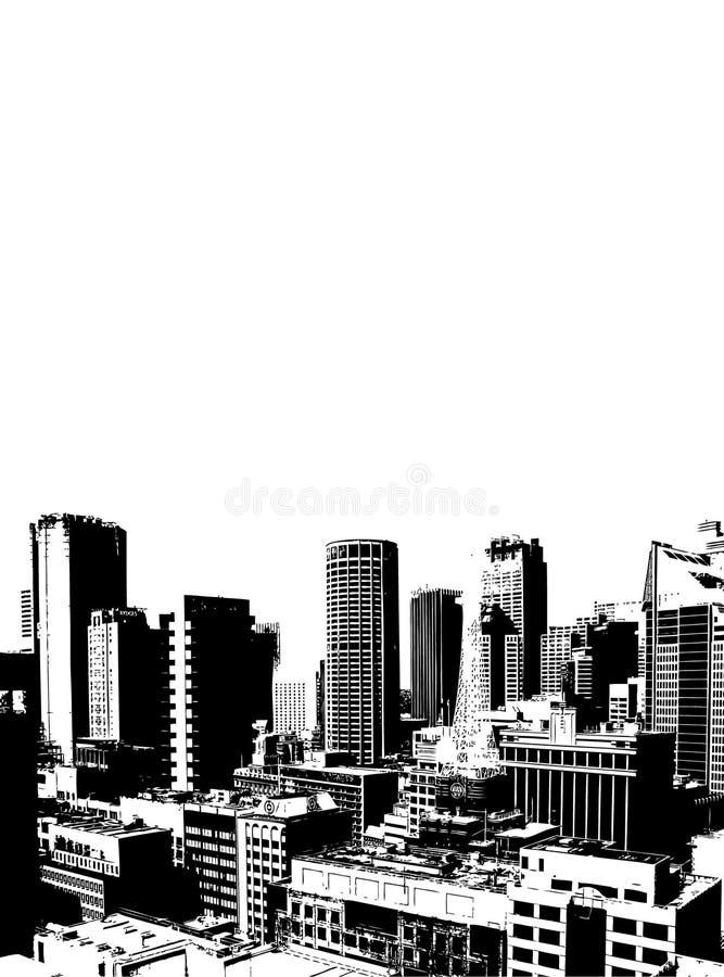 Rascacielos. Vector ilustración del vector
