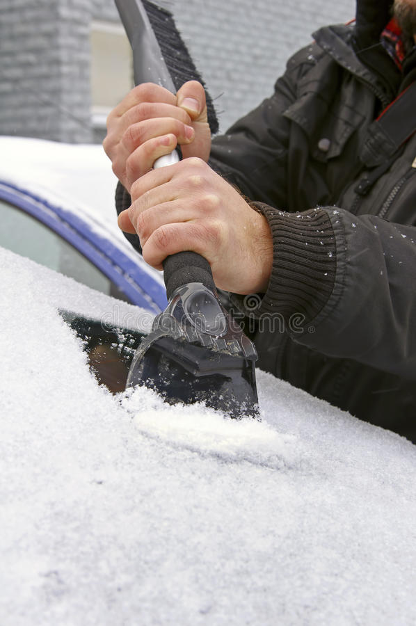 Raschio del ghiaccio immagini stock
