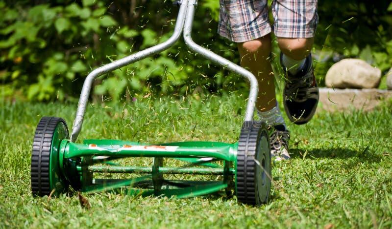 Rasen-Sorgfalt stockbild