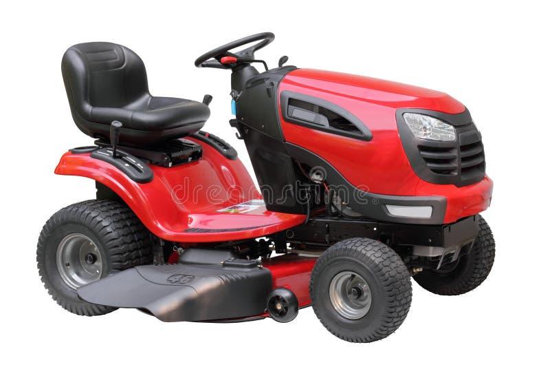 Rasen-Traktor trennte stockfotografie