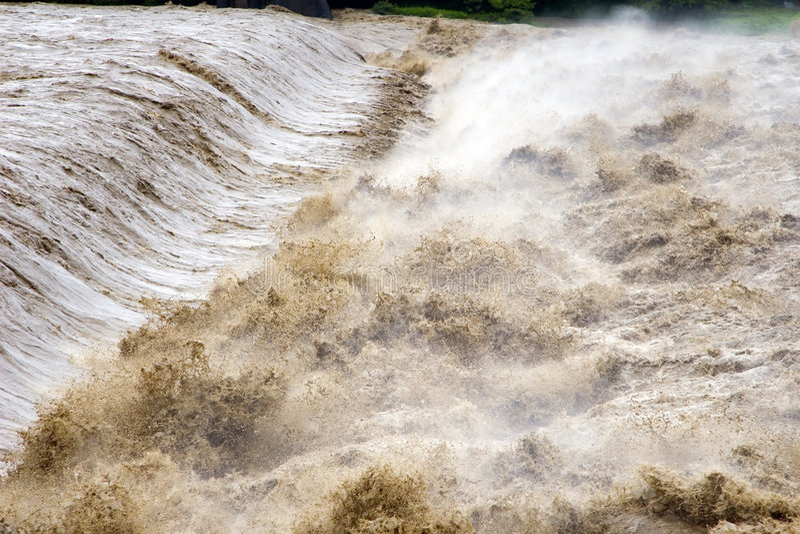 Rasender Fluss stockfotos