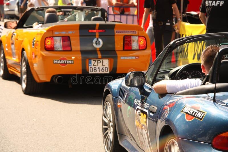 Raserei-Rennen 2009 stockbild