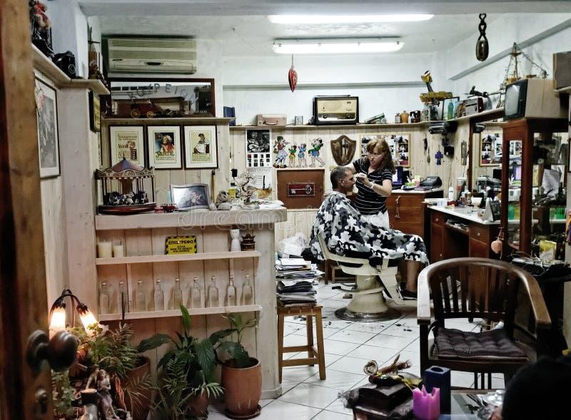 Raseur-coiffeur image stock