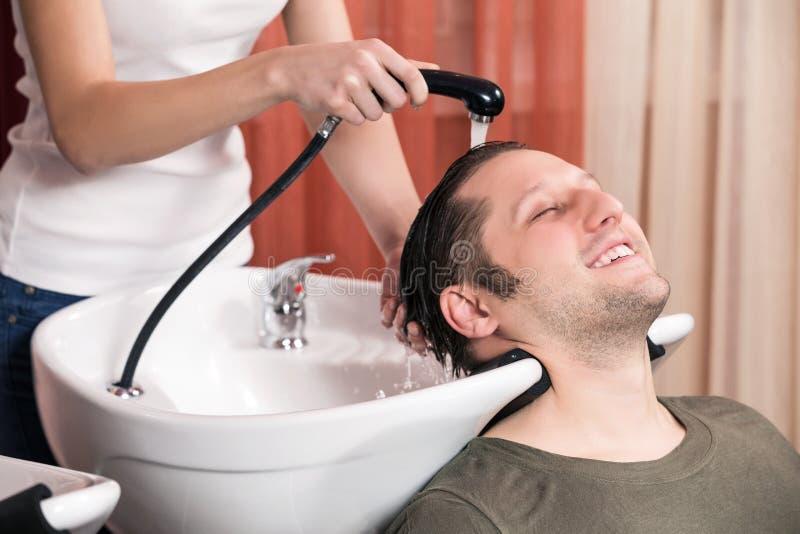 Raseur-coiffeur photographie stock