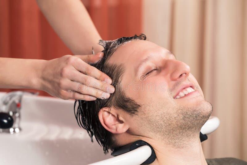 Raseur-coiffeur photo libre de droits