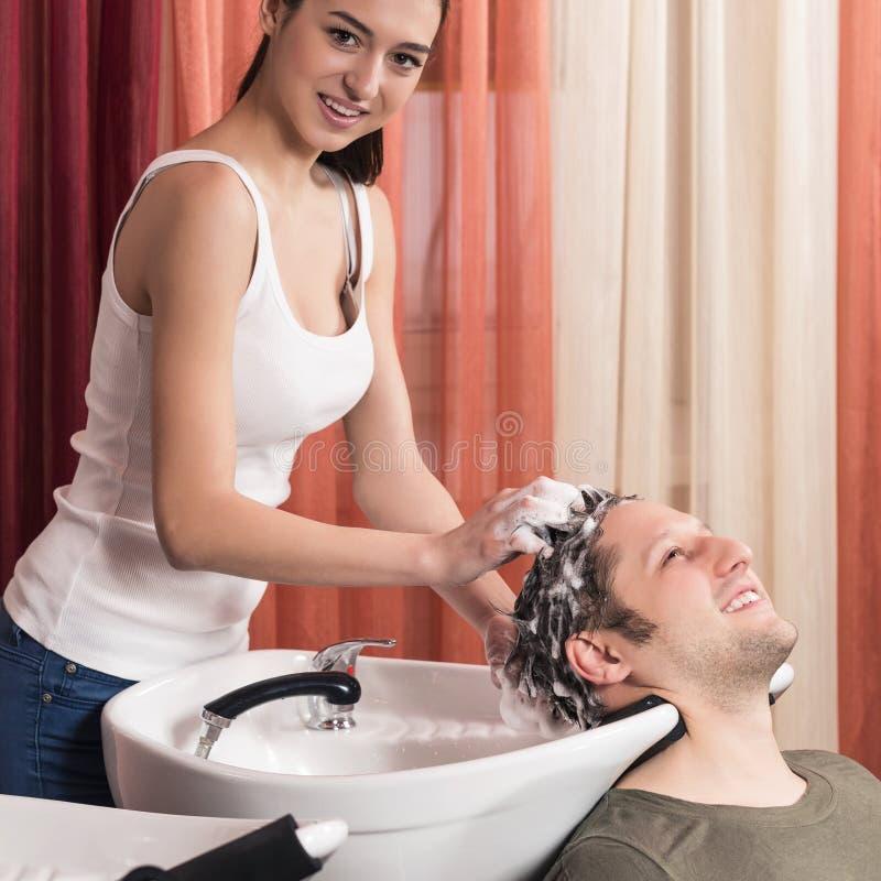 Raseur-coiffeur image libre de droits