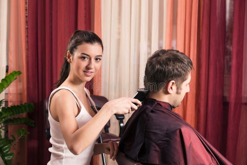 Raseur-coiffeur photos stock