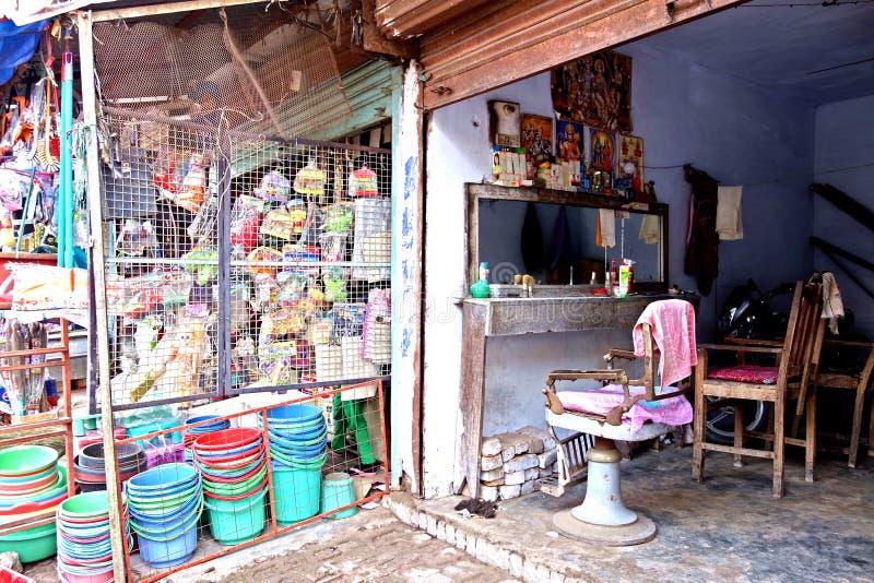 Raseur-coiffeur indien photos libres de droits