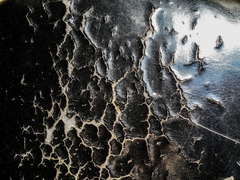 Rasgón del primer del extracto negro de la textura de los asientos de carro imágenes de archivo libres de regalías