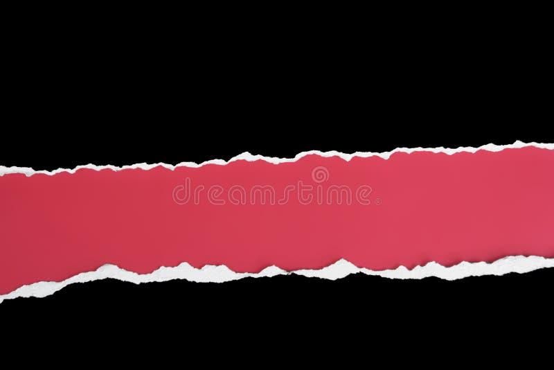 Rasgón doble horizontal ancho imágenes de archivo libres de regalías