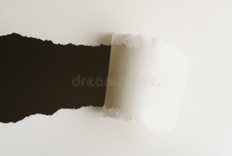 Rasgo de papel imagens de stock royalty free